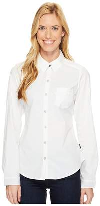 Columbia Harborside Woven Long Sleeve Shirt Women's Long Sleeve Button Up