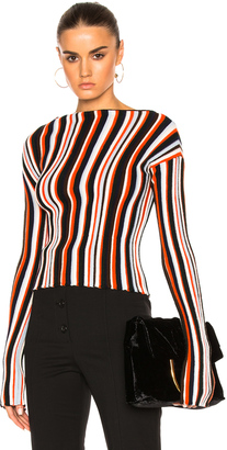 JACQUEMUS Striped Sweater $588 thestylecure.com