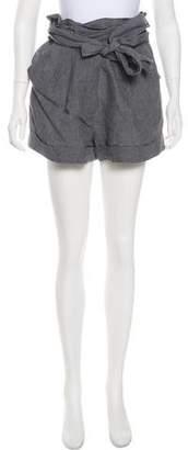 3.1 Phillip Lim Linen Mini Shorts