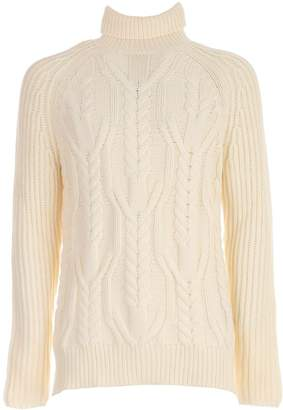 Neil Barrett Cable Knit Sweater