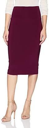 Norma Kamali Women's Straight Skirt to Knee