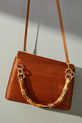 Serpui Marie Leona Bamboo Crossbody Bag