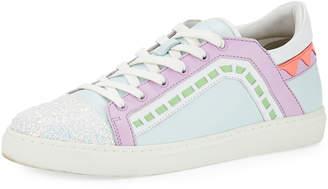 Sophia Webster Riko Flat Lace-Up Sneaker