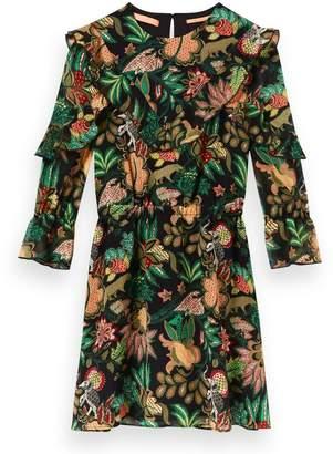 Scotch & Soda Jungle Print Dress