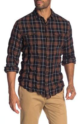 WALLIN & BROS Long Sleeve Pocket Plaid Shirt