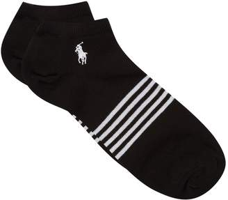 Ralph Lauren Logo Trainer Socks (Pack of 3)