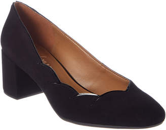 French Sole Mandy Suede Pump