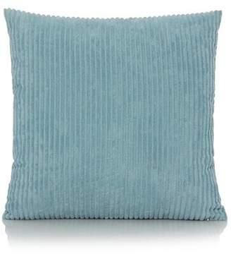 George Home Jumbo Cord Cushion 50 x 50cm - Nile Blue