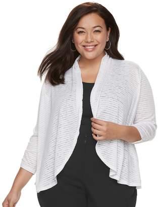 Apt. 9 Plus Size Knit FlyAway Cardigan