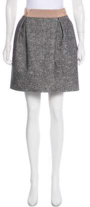 Giambattista Valli Virgin Wool-Blend Skirt w/ Tags