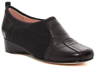 Taryn Rose Kuss Wedge Slip-On Shoe $229 thestylecure.com