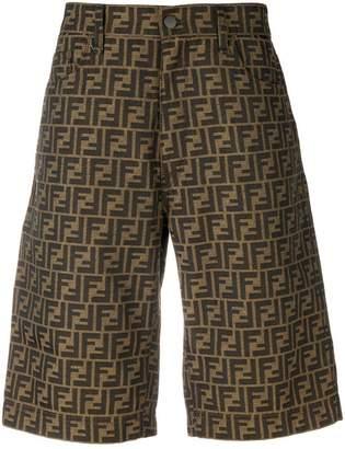 Fendi FF logo bermuda shorts