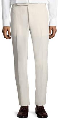 Ralph Lauren Linen-Silk Slub Trousers