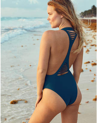 aerie Cut Out Voop One Piece Swimsuit