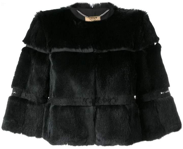 layered fur jacket
