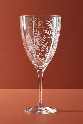 Anthropologie Eloise Wine Glass