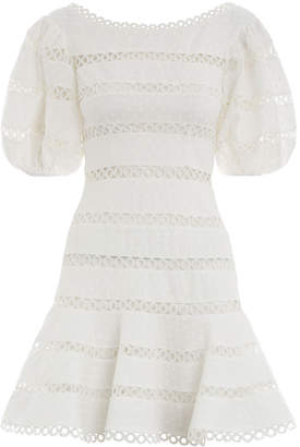 Zimmermann Bowie Contour Hailspot Dress