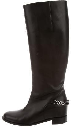 Christian Louboutin Christian Louboutin Cate Chain-Embellished Boots