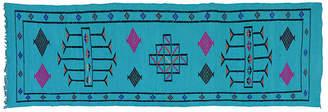 One Kings Lane Vintage Moroccan Silk Runner - 9'7'' x 2'6''