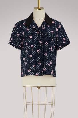 Miu Miu Pijama silk shirt
