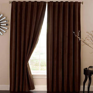 Asstd National Brand Absolute Zero Rod-Pocket/Back-Tab Blackout Home Theater Curtain