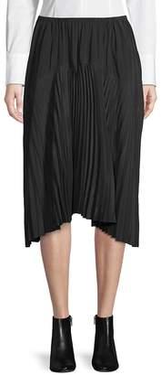 Vince Women's Pleated Seamed Skirt