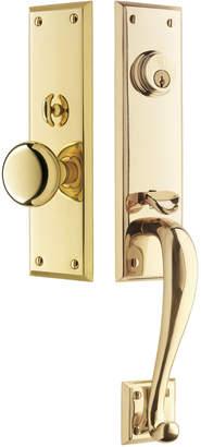 Rejuvenation Putman Classic Knob Exterior Door Set