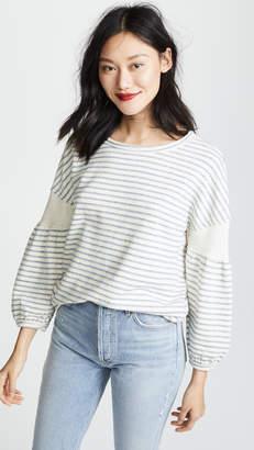 Splendid Cubist Active Sweatshirt