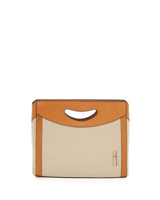 Hayward 1712 Linen Basket Clutch Bag