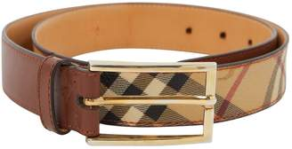 Burberry Leather belt