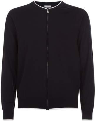 Sandro Contrast Border Sweater