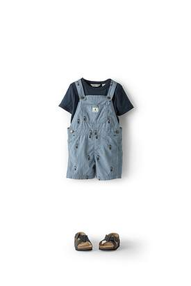 Country Road Embroidered Sheriff Overalls