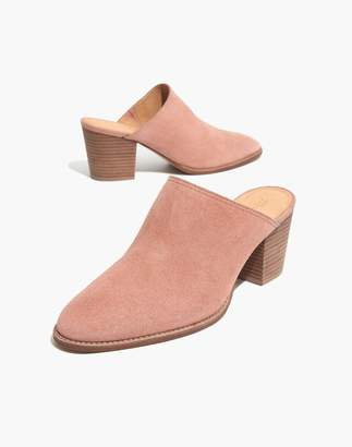 Madewell The Harper Mule in Suede
