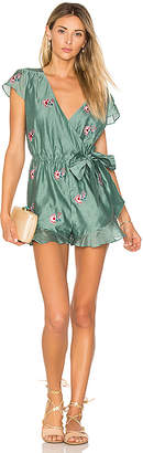 Tularosa Ashby Romper in Sage $158 thestylecure.com