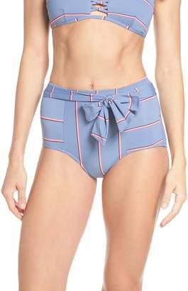 Seafolly Radiance Belted High Waist Bikini Bottoms