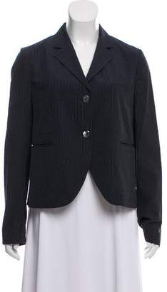 Hache Houndstooth Long Sleeve Blazer