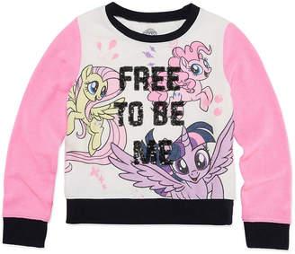 My Little Pony Long Sleeve Sweatshirt - Preschool Girls