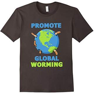 Promote Global Worming! Funny worm composting T-shirt