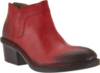 Fly London Leather Ankle Boots - Dias