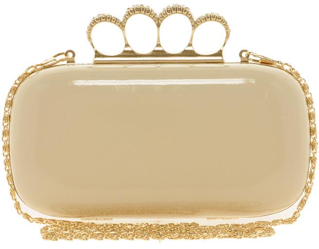 Aldo Gooder Jewelled Box Clutch Bag