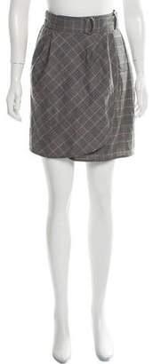 Tara Jarmon Wool-Blend Mini Skirt w/ Tags