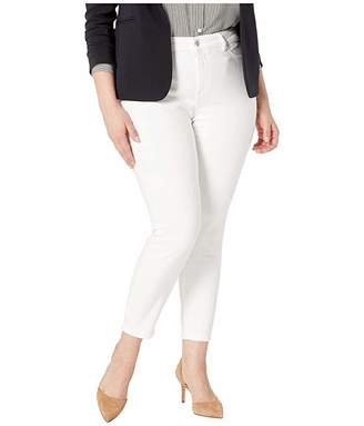 DL1961 Plus Size Farrow Mid-Rise Skinny in Porcelain
