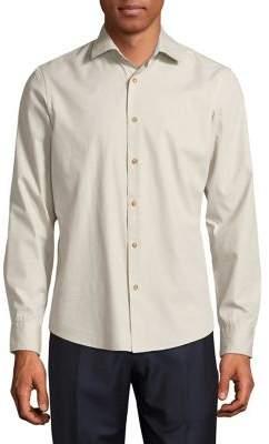 Black & Brown Black Brown Long-Sleeve Cotton Button-Down Shirt