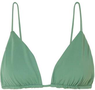 Broochini Apia Bikini Top - Gray green
