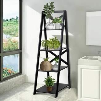 Ebern Designs Lessard Shelf Storage Display Ladder Bookcase Ebern Designs