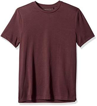 Perry Ellis Men's Stretch Pima Crew Neck Tee Shirt