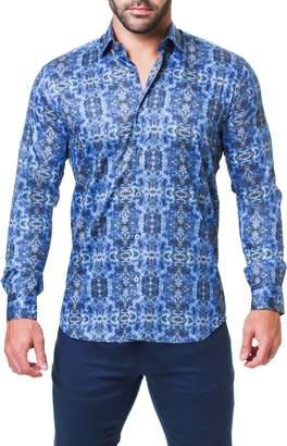 Desigual Maceoo Fibonacci Regular Fit Print Sport Shirt