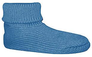 Soft Ones Women's Cuff Slipper Socks w/ Anti-Sk