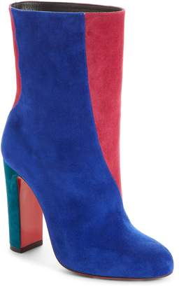 Christian Louboutin Colorblocked Botty Bootie