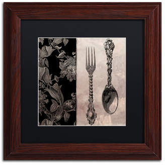 Color Bakery 'Victorian Table Iv' Matted Framed Art